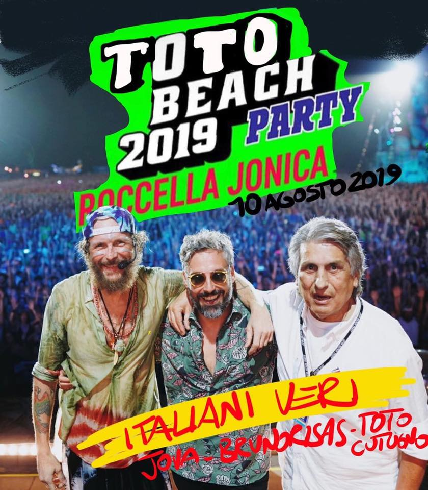 Toto Cutugno 10 august 2019 - Jova Beach Party